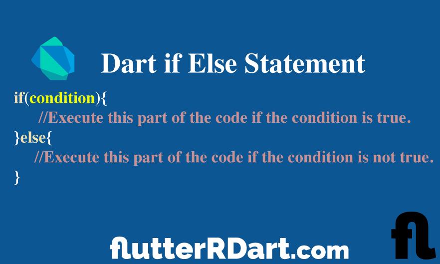dart if else statement multiple